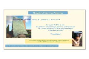 Ritiro di Quaresima @ Monastero Cistercense di Valserena | Toscana | Italia